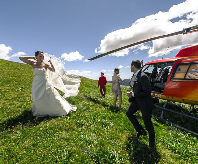 amazing wedding on the Italian alps