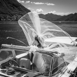 Traditional wedding in Varenna and Bellagio