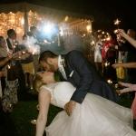 Raining wedding, lovely couple in Villa Balbianello Lake Como