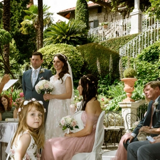 from uk gorgeous wedding in villa cipressi lake como