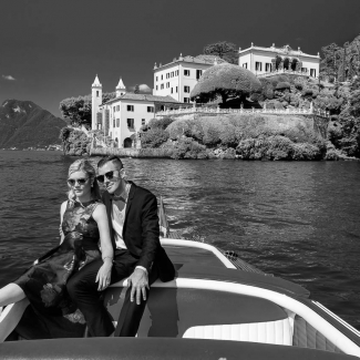 From USA engagement in Villa Balbianello lake como