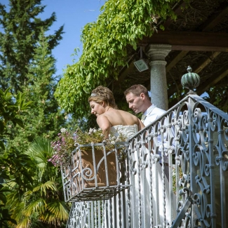 Weding photographer: summer wedding in Villa cipressi lake Como