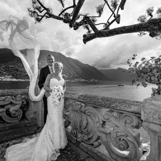 wedding photographer: villa balbianello wedding lake Como