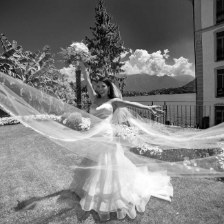 wedding photographer: stunning wedding from USA to loggia Durini Villa Balbianello Lake Como