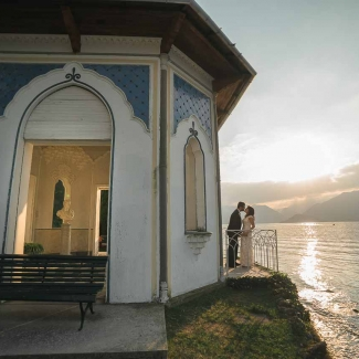 Wedding photographer: elopement in Villa Melzi Bellagio Lake Como